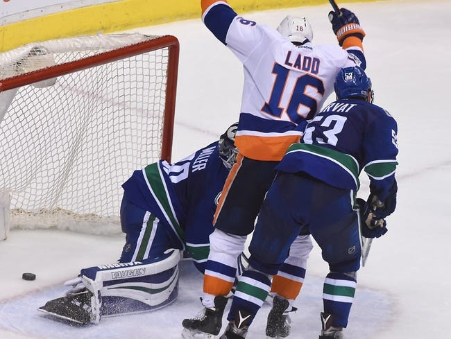 New York Islanders vs. Vancouver Canucks - 11/28/17 NHL Pick, Odds, and Prediction