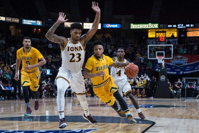 Iona vs. Siena - 1/11/18 College Basketball Pick, Odds, and Prediction