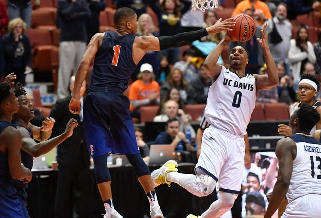 UC Davis vs. Cal State-Fullerton - 2/10/18 College Basketball Pick, Odds, and Prediction