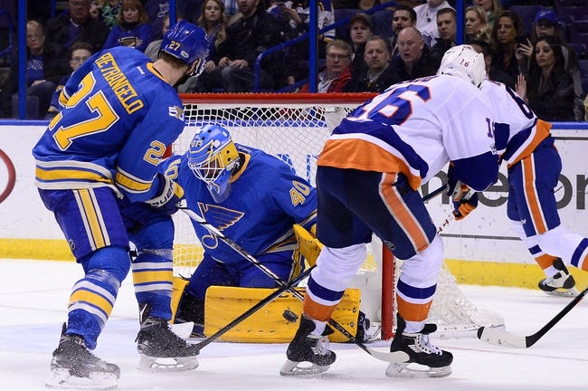 New York Islanders vs. St. Louis Blues - 10/9/17 NHL Pick, Odds, and Prediction