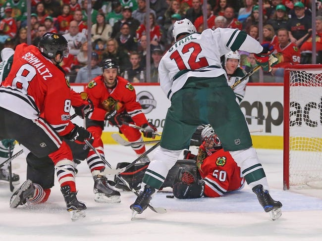 Chicago Blackhawks vs. Minnesota Wild - 10/12/17 NHL Pick, Odds, and Prediction