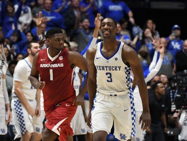 Arkansas vs. Kentucky - 2/20/18 College Basketball Pick, Odds, and Prediction