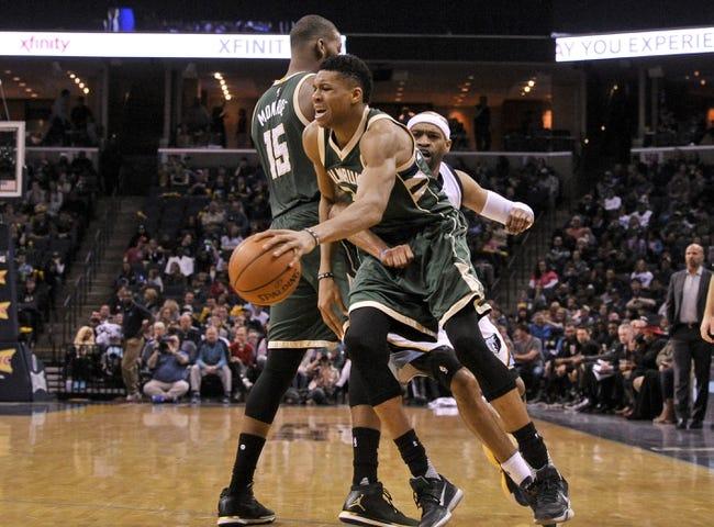Milwaukee Bucks vs. Memphis Grizzlies - 11/13/17 NBA Pick, Odds, and Prediction