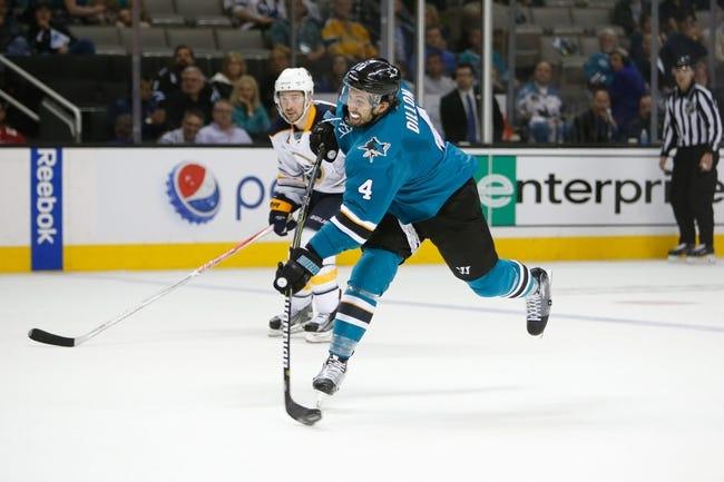 San Jose Sharks vs. Buffalo Sabres - 10/12/17 NHL Pick, Odds, and Prediction