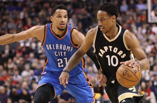 Oklahoma City Thunder vs. Toronto Raptors - 12/27/17 NBA Pick, Odds, and Prediction