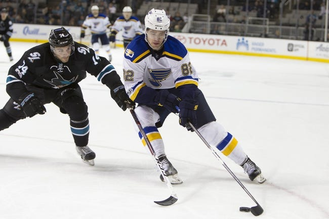 St. Louis Blues vs. San Jose Sharks - 2/20/18 NHL Pick, Odds, and Prediction