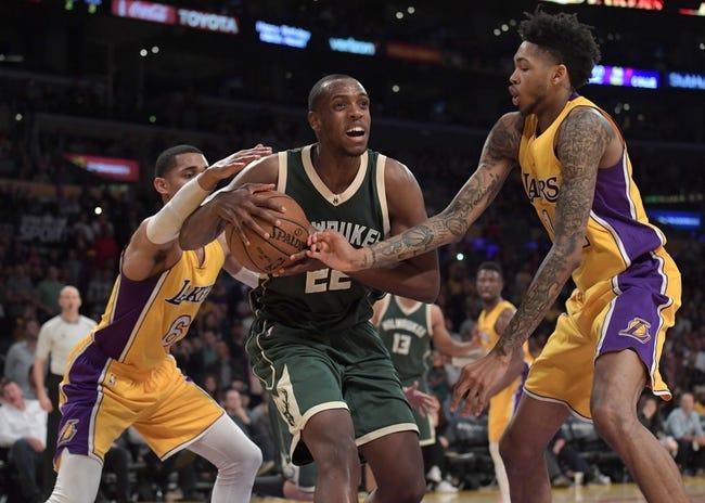 Milwaukee Bucks vs. Los Angeles Lakers - 11/11/17 NBA Pick, Odds, and Prediction