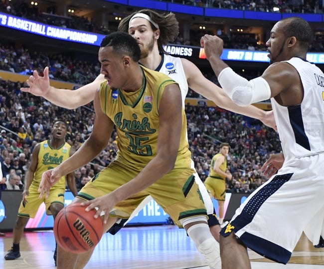 DePaul vs. Notre Dame - 11/11/17 College Basketball Pick, Odds, and Prediction