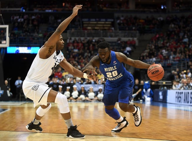 Vanderbilt vs. Middle Tennessee - 12/6/17 College Basketball Pick, Odds, and Prediction