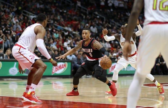 Atlanta Hawks vs. Portland Trail Blazers - 12/30/17 NBA Pick, Odds, and Prediction