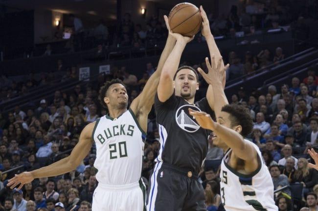 Milwaukee Bucks vs. Golden State Warriors - 1/12/18 NBA Pick, Odds, and Prediction