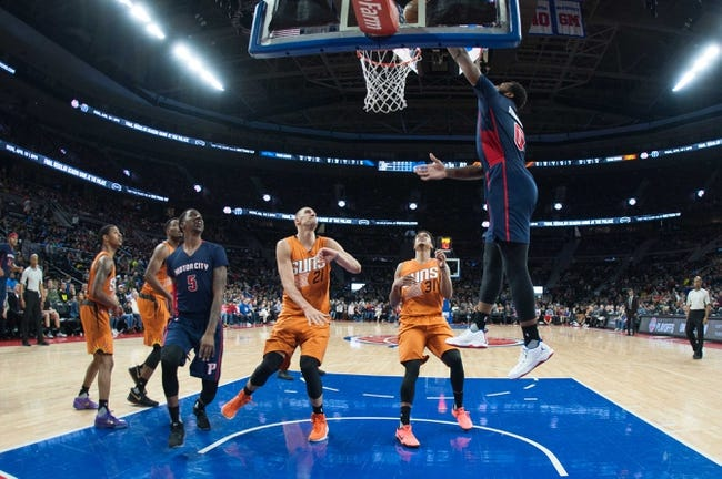 Detroit Pistons vs. Phoenix Suns - 11/29/17 NBA Pick, Odds, and Prediction