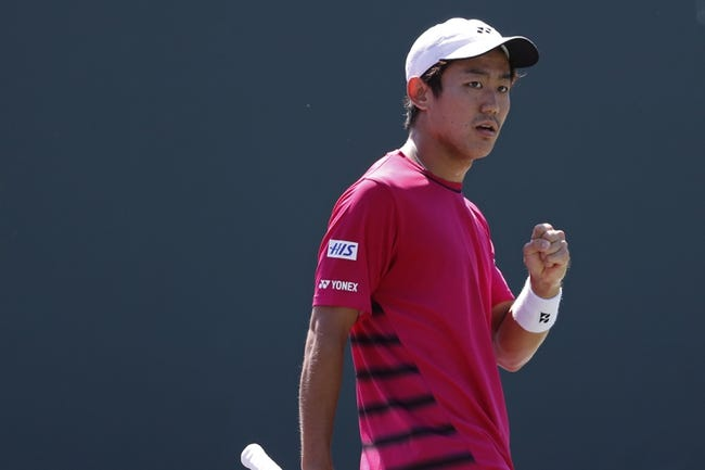 Tennis | Yoshihito Nishioka vs Taylor Fritz