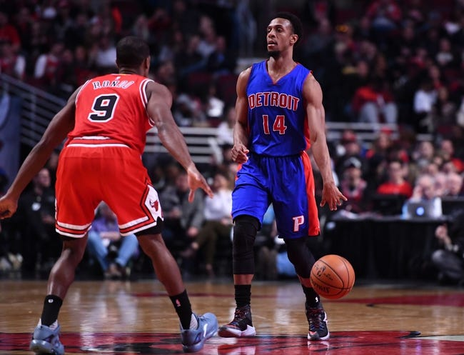 Chicago Bulls vs. Detroit Pistons - 1/13/18 NBA Pick, Odds, and Prediction