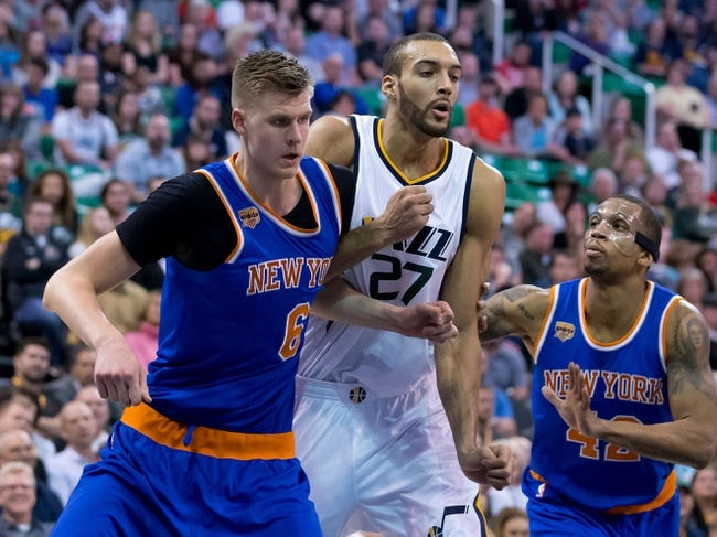 New York Knicks vs. Utah Jazz - 11/15/17 NBA Pick, Odds, and Prediction