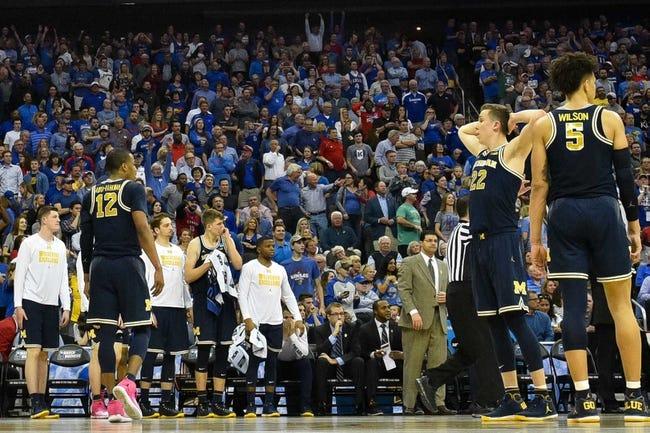 Michigan vs. Central Michigan - 11/13/17 College Basketball Pick, Odds, and Prediction