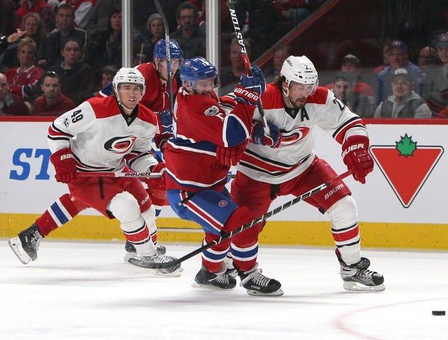 Carolina Hurricanes vs. Montreal Canadiens - 12/27/17 NHL Pick, Odds, and Prediction