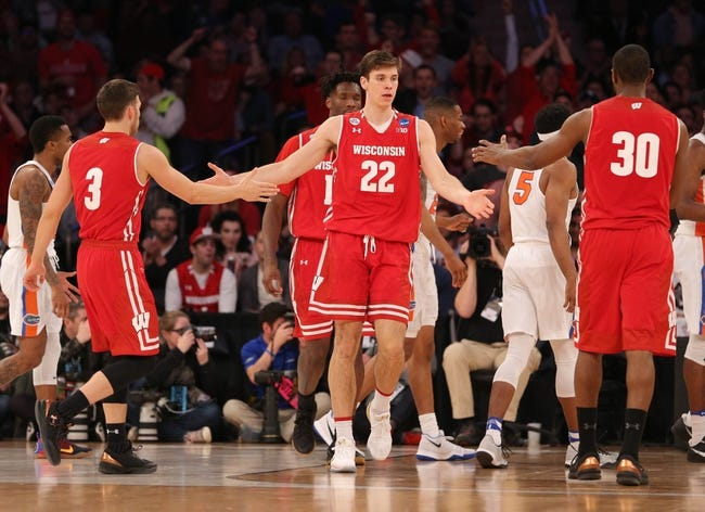 Wisconsin vs. Yale - 11/12/17 College Basketball Pick, Odds, and Prediction