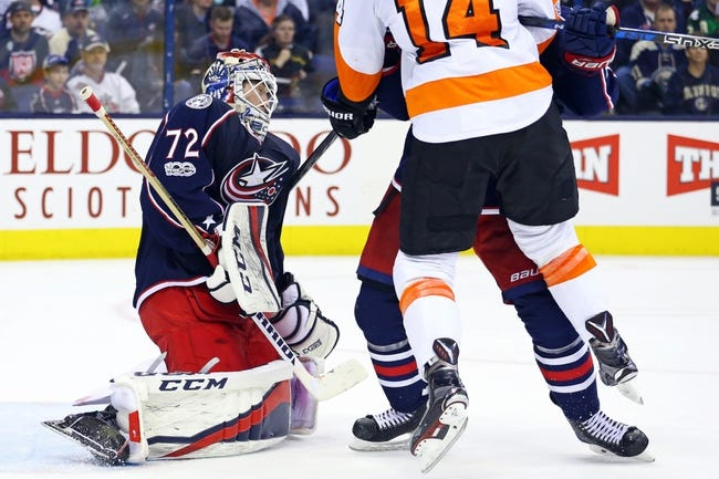 Columbus Blue Jackets vs. Philadelphia Flyers - 12/23/17 NHL Pick, Odds, and Prediction