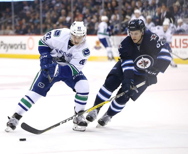 Vancouver Canucks vs. Winnipeg Jets - 10/12/17 NHL Pick, Odds, and Prediction