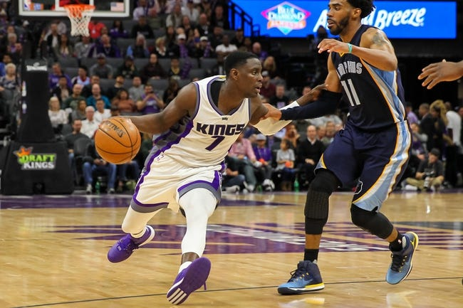 Sacramento Kings vs. Memphis Grizzlies - 12/31/17 NBA Pick, Odds, and Prediction