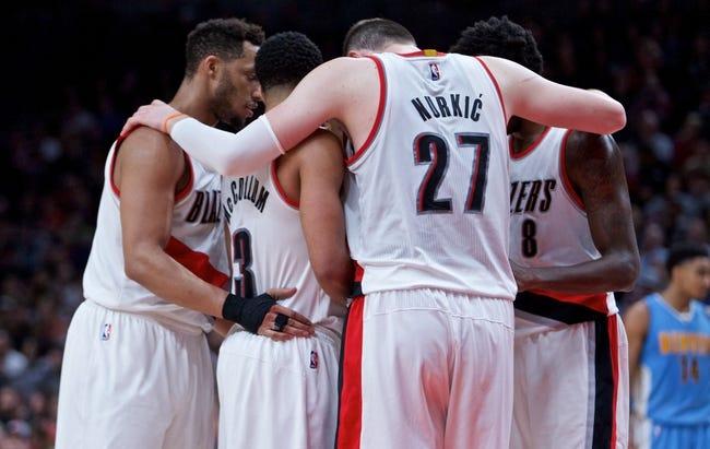 Portland Trail Blazers vs. Denver Nuggets - 11/13/17 NBA Pick, Odds, and Prediction