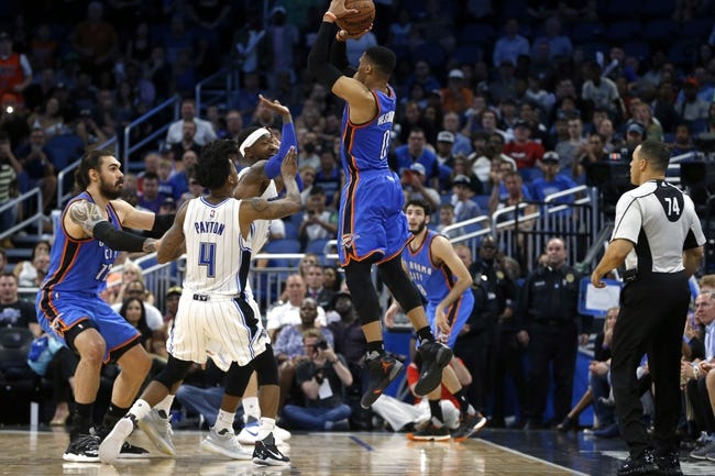 Orlando Magic vs. Oklahoma City Thunder - 11/29/17 NBA Pick, Odds, and Prediction
