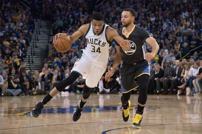 Golden State Warriors vs. Milwaukee Bucks - 11/8/18 NBA Pick, Odds, and Prediction