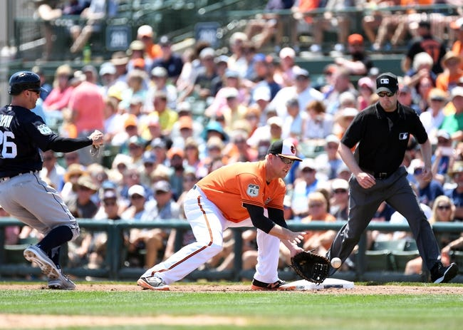 Orioles' Machado out of starting lineup vs. Tigers