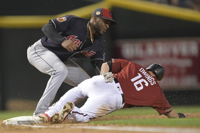 Diamondbacks rally again, erupt late to crush Indians