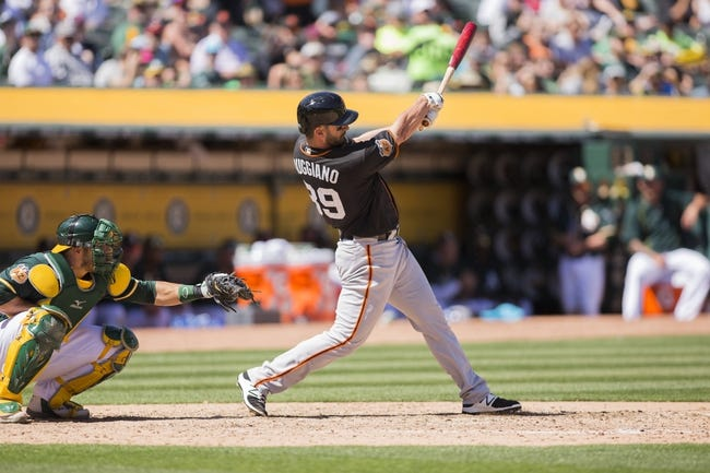 Oakland Athletics vs. San Francisco Giants - 7/31/17 MLB Pick, Odds, and Prediction