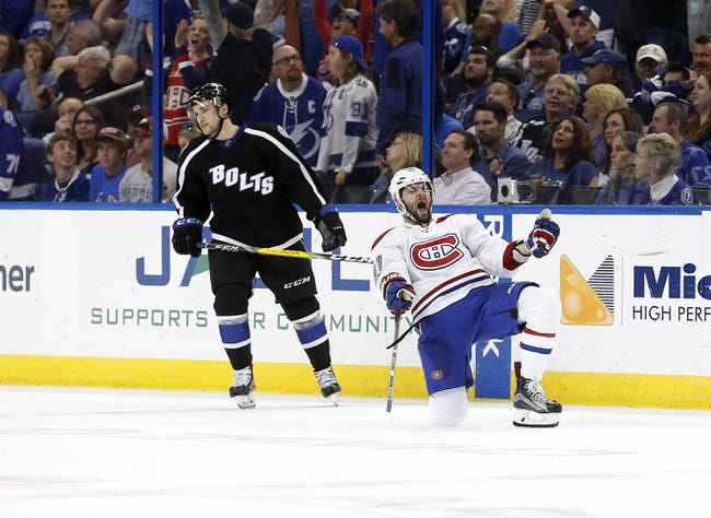 Gourde, Kucherov help Lightning beat Canadiens 4-2