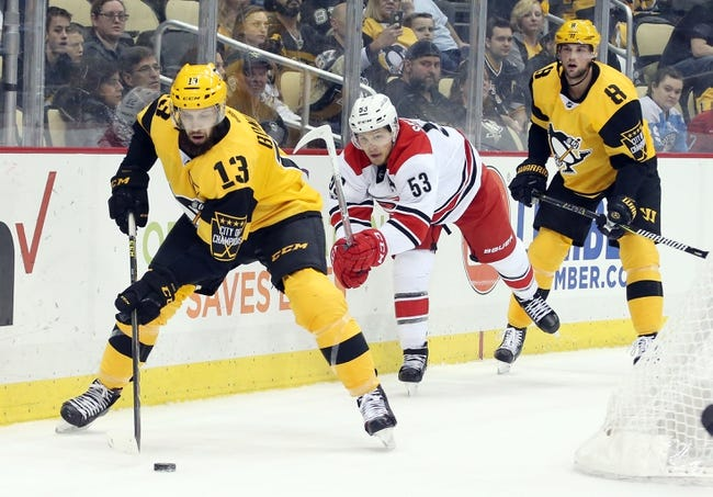 Carolina Hurricanes vs. Pittsburgh Penguins - 12/29/17 NHL Pick, Odds, and Prediction