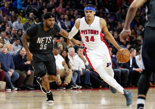 Brooklyn Nets vs. Detroit Pistons - 1/10/18 NBA Pick, Odds, and Prediction