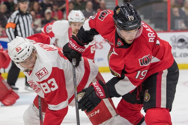 Ottawa Senators vs. Detroit Red Wings - 10/7/17 NHL Pick, Odds, and Prediction