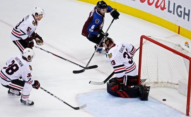 NHL | Chicago Blackhawks (5-4-2) at Colorado Avalanche (5-4-0)