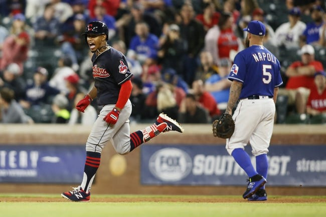 Cleveland Indians vs. Texas Rangers- 6/26/17 MLB Pick Odds and Prediction