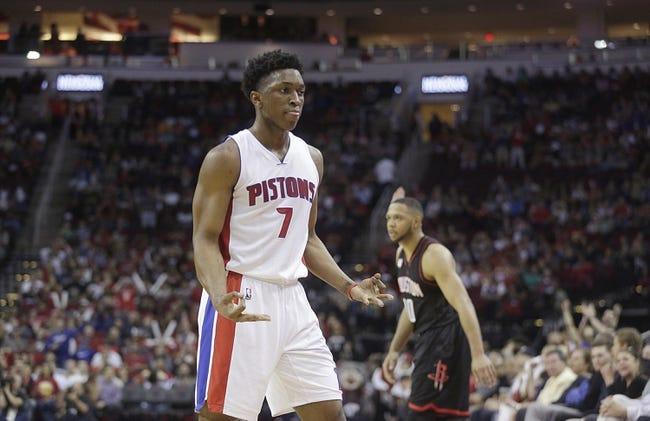 Detroit Pistons vs. Houston Rockets - 1/6/18 NBA Pick, Odds, and Prediction