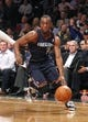 Apr 6, 2013; Brooklyn, NY, USA; Charlotte Bobcats guard Kemba Walker (15) drives to the basket against Brooklyn Nets in the first quarter at Barclays Center. Mandatory Credit: Nicole Sweet-USA TODAY Sports