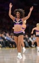 Apr 14, 2013; Los Angeles, CA, USA; Los Angeles Lakers girls cheerleaders perform during the game against the San Antonio Spurs at the Staples Center. Mandatory Credit: Kirby Lee-USA TODAY Sports