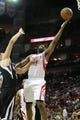April 14, 2013; Houston, TX, USA; Houston Rockets shooting guard James Harden (13) takes a shot against the Sacramento Kings in the second quarter at the Toyota Center. Mandatory Credit: Brett Davis-USA TODAY Sports