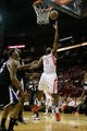 April 14, 2013; Houston, TX, USA; Houston Rockets shooting guard James Harden (13) takes a shot against the Sacramento Kings in the first quarter at the Toyota Center. Mandatory Credit: Brett Davis-USA TODAY Sports