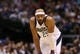 Apr 17, 2013; Dallas, TX, USA; Dallas Mavericks guard Vince Carter (25) during the game against the New Orleans Hornets at American Airlines Center. Mandatory Credit: Matthew Emmons-USA TODAY Sports