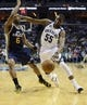 Apr 17, 2013; Memphis, TN, USA;  Memphis Grizzlies point guard Keyon Dooling (55) brings the ball up court against Utah Jazz point guard Jamaal Tinsley (6) during the game at FedEx Forum.  The Memphis Grizzlies defeated the Utah Jazz 86-70.  Mandatory Credit: Spruce Derden   USA TODAY Sports