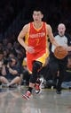 Apr 17, 2013; Los Angeles, CA, USA; Houston Rockets guard Jeremy Lin (7) dribbles the ball against the Los Angeles Lakers at the Staples Center. The Lakers defeated the Rockets 99-95 in overtime. Mandatory Credit: Kirby Lee-USA TODAY Sports
