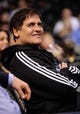 Apr 10, 2013; Dallas, TX, USA; Dallas Mavericks owner Mark Cuban watches his team as they take on the Phoenix Suns at the American Airlines Center. The Suns defeated the Mavericks 102-91. Mandatory Credit: Jerome Miron-USA TODAY Sports