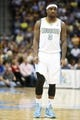 Apr 14, 2013; Denver, CO, USA; Denver Nuggets guard Ty Lawson (3)  during the second half against the Portland Trailblazers at the Pepsi Center. Mandatory Credit: Chris Humphreys-USA TODAY Sports