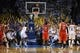 Apr 24, 2013; Oklahoma City, OK, USA; Houston Rockets guard James Harden attempts a free throw against the Oklahoma City Thunder late in the second half during game two of the first round of the 2013 NBA Playoffs at Chesapeake Energy Arena. Mandatory Credit: Mark D. Smith-USA TODAY Sports