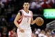 Apr 27, 2013; Houston, TX, USA; Houston Rockets point guard Jeremy Lin (7) brings the ball up the court during the first quarter against the Oklahoma City Thunder in game three of the first round of the 2013 NBA playoffs at the Toyota Center. Mandatory Credit: Troy Taormina-USA TODAY Sports