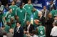 May 1, 2013; New York, NY, USA; Boston Celtics head coach Doc Rivers coaches New York Knicks during the first half in game five of the first round of the 2013 NBA Playoffs at Madison Square Garden. Mandatory Credit: Joe Camporeale-USA TODAY Sports